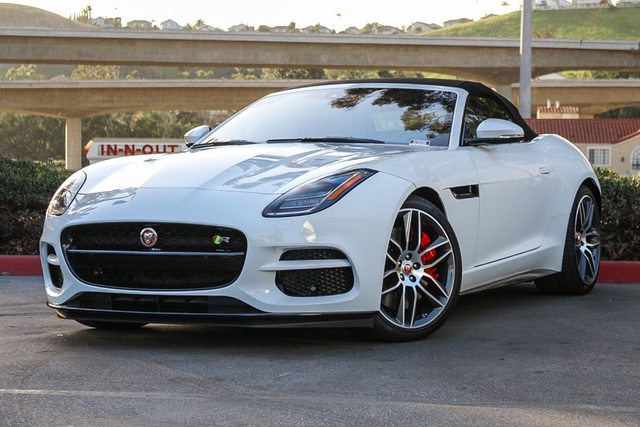 New 2020 Jaguar F-TYPE Convertible Auto R AWD