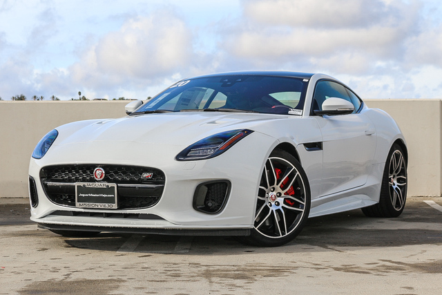 New 2020 Jaguar F-TYPE Coupe Auto Checkered Flag AWD