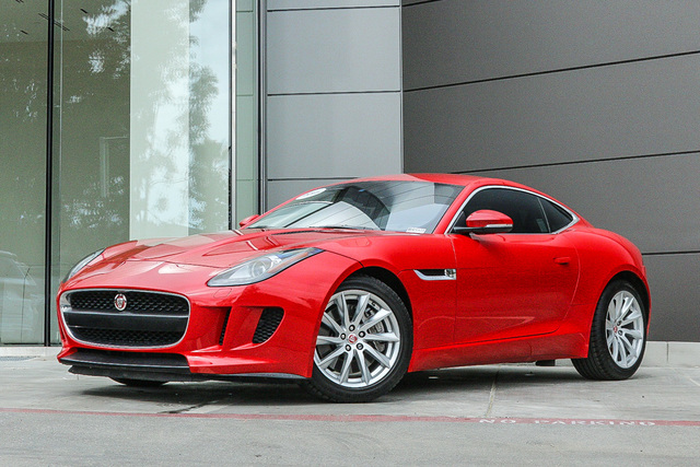 Certified Pre-Owned 2017 Jaguar F-TYPE Coupe Auto Premium