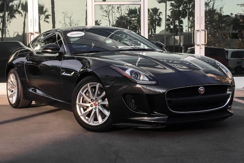 Certified PreOwned Jaguar FTYPE V Coupe In Mission Viejo - 2015 f type jaguar