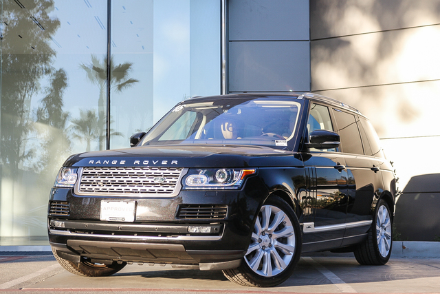 Certified Pre-Owned 2016 Land Rover Range Rover 4WD 4dr Supercharged LWB